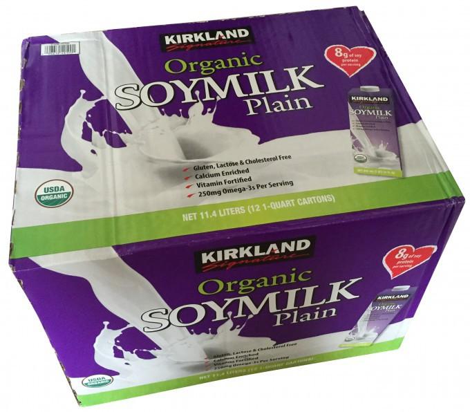 カークランド豆乳
