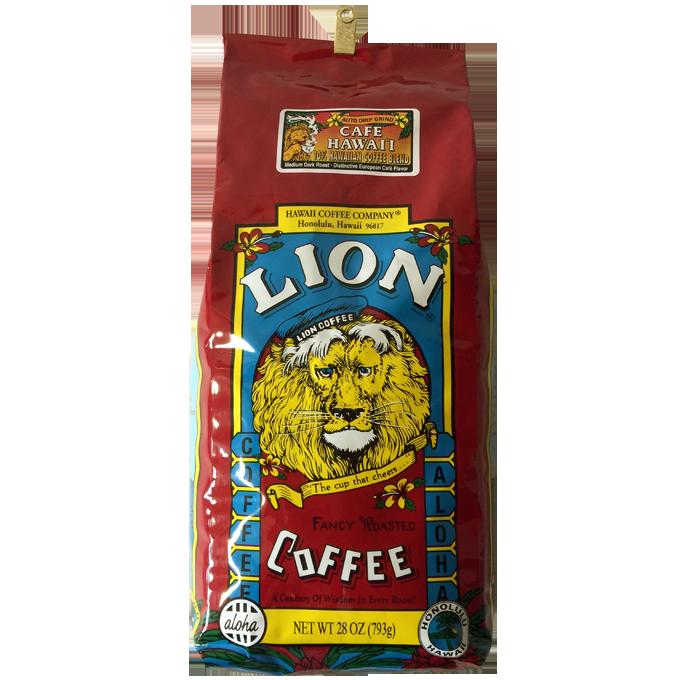 ライオンカフェハワイコーヒー