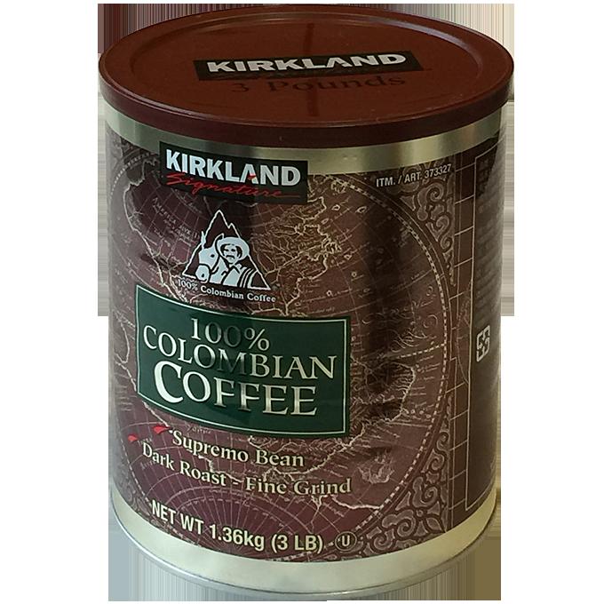 コストコ KIRKLANDコロンビアコーヒー