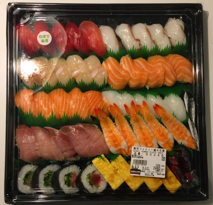 寿司ファミリー48貫