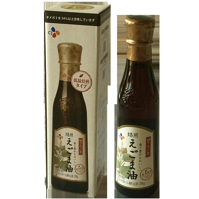 エゴマ油 278g(シージェイジャパン 香り豊かなおいしいえごま油)