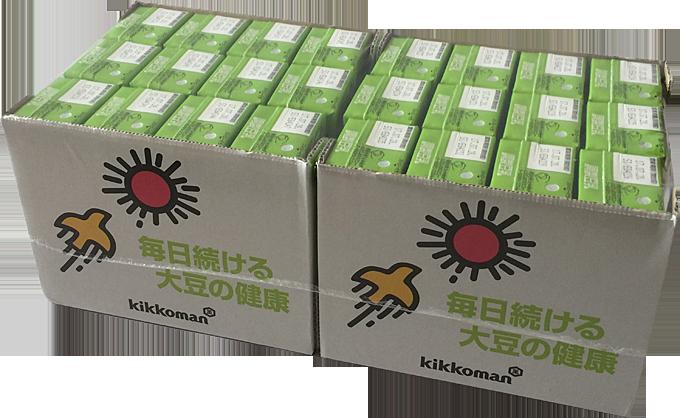 キッコーマン調整豆乳200mL×24個(紀文)