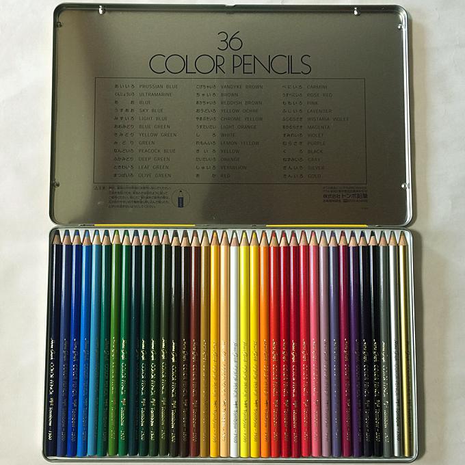 トンボ色鉛筆36色