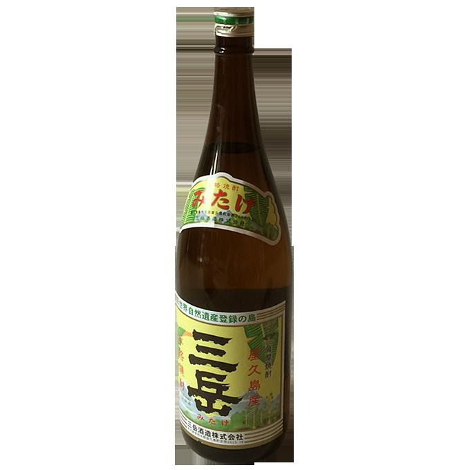 三岳 芋焼酎1.8リットル