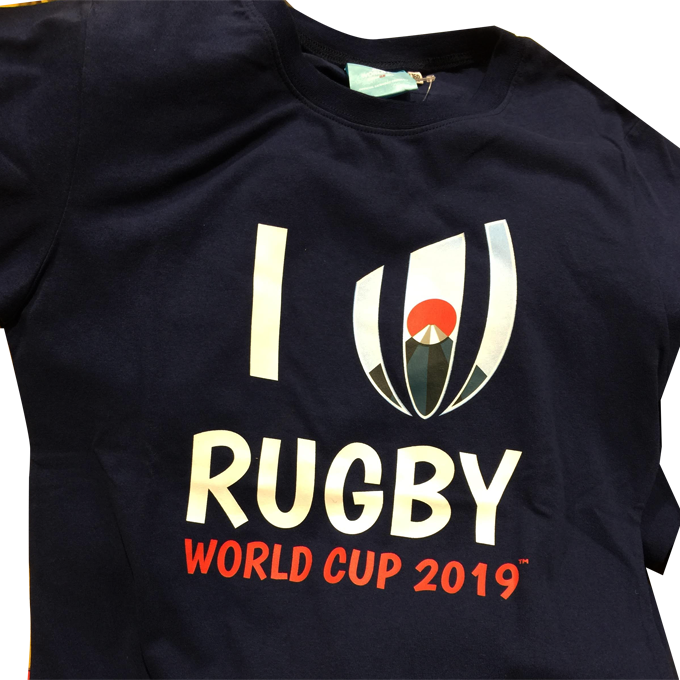 ラグビーワールドカップ2019 Tシャツ