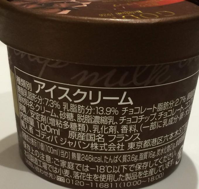 ゴディバチョコレートアイス